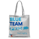 Blue Team Pride Classic Sublimation Tote Bag