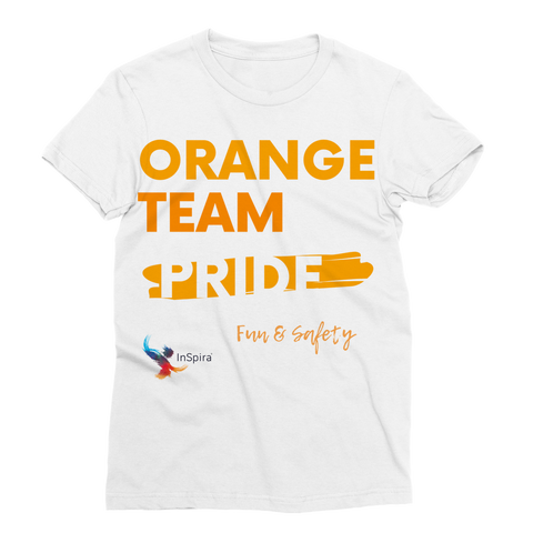 Orange Team Pride Classic Sublimation Women's T-Shirt