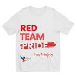Red Team Pride Sublimation Kids T-Shirt