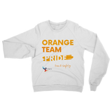 Orange Team Pride Classic Adult Sweatshirt