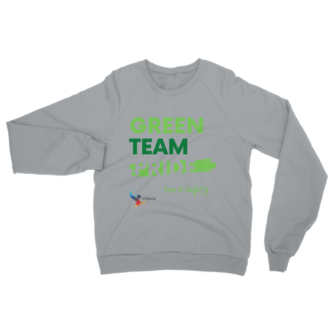 Green Team Classic Adult Sweatshirt