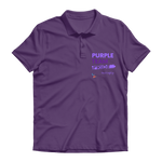 Purple Team Pride Premium Adult Polo Shirt
