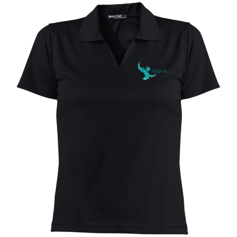 L469 Sport-Tek Ladies' Dri-Mesh Short Sleeve Polo