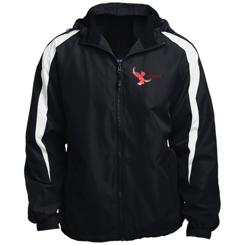 YST81 Sport-Tek Youth Colorblock Fleece-Lined Jacket