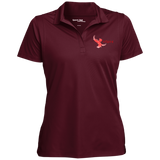 LST650 Sport-Tek Women's Micropique Tag-Free Flat-Knit Collar Polo