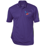 ST695 Sport-Tek Performance Textured Three-Button Polo