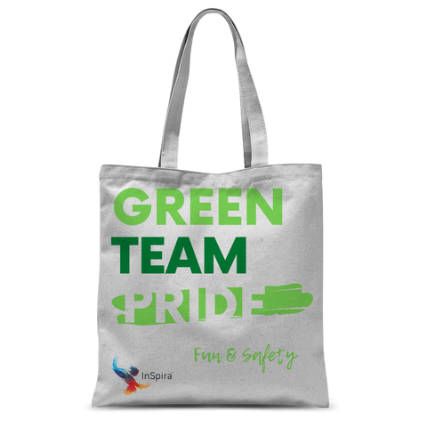 Green Team Classic Sublimation Tote Bag