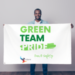 Green Team Sublimation Flag