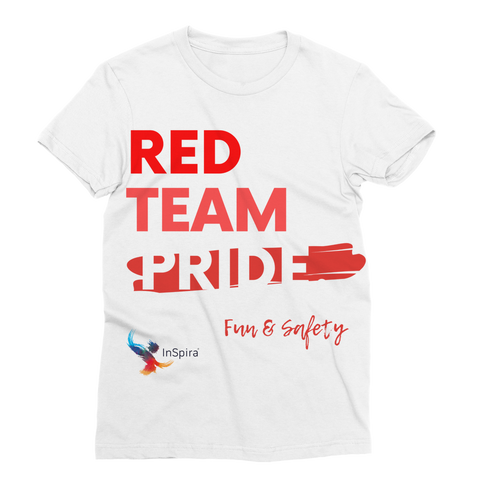 Red Team Pride Classic Sublimation Women's T-Shirt