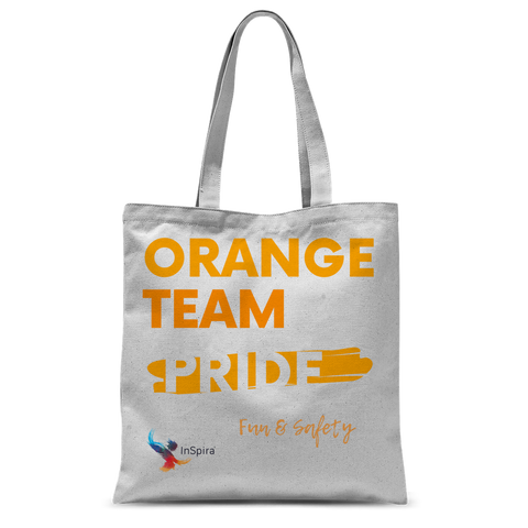 Orange Team Pride Classic Sublimation Tote Bag