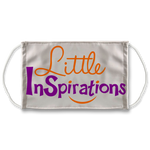 Little InSpirations Gear Sublimation Face Mask