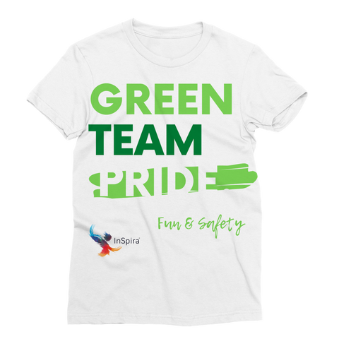 Green Team Classic Sublimation Women's T-Shirt