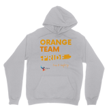 Orange Team Pride Classic Adult Hoodie