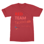 Red Team Pride Classic Adult T-Shirt