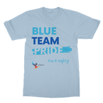 Blue Team Pride Classic Adult T-Shirt