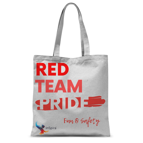 Red Team Pride Classic Sublimation Tote Bag