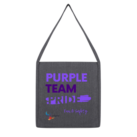 Purple Team Pride Classic Tote Bag