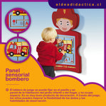 PANEL SENSORIAL PARED BOMBERO
