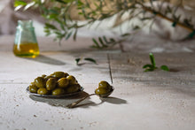 Load image into Gallery viewer, Olives - Grumpy Grandmas Green Olives - (330g)