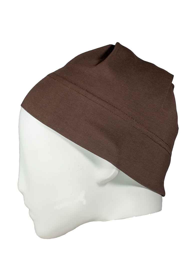 Cap in Dark Brown
