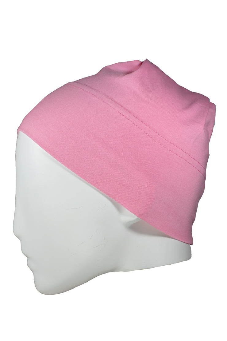 Cap in Medium Pink
