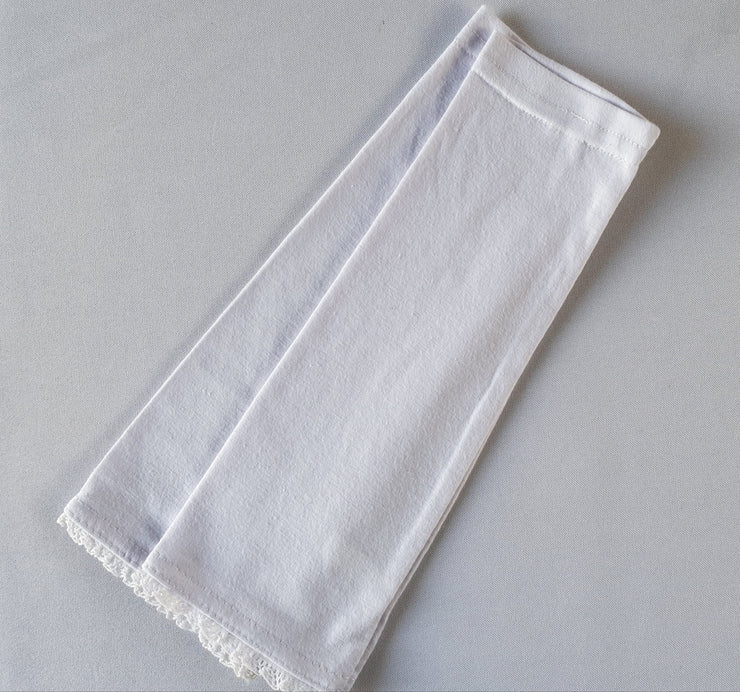 Cotton Arm Band in White