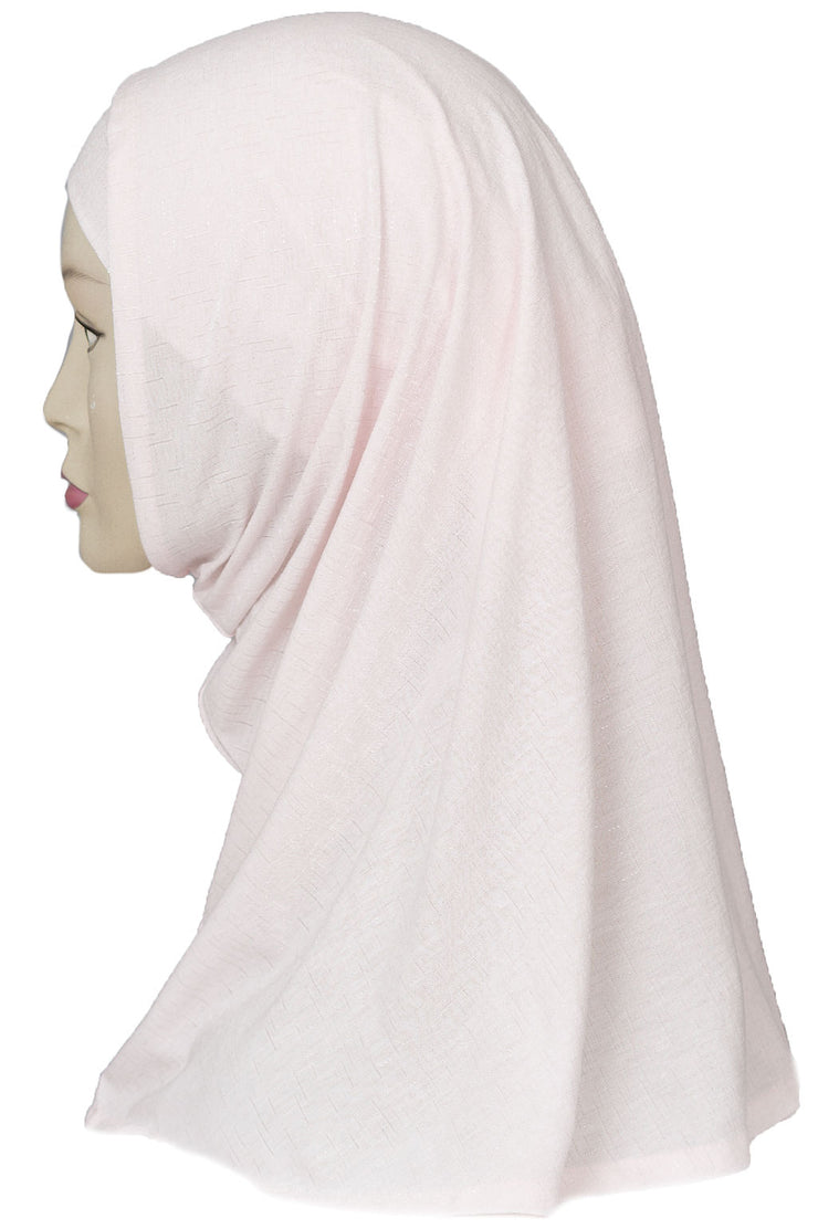 2 PCS  Textured Head Set- Baby Pink