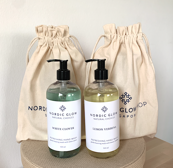 Gift Set - Two Soaps in a Canvas Bag