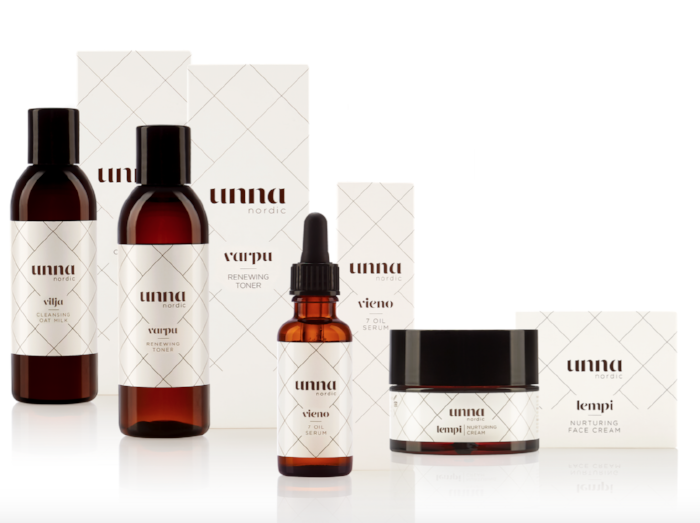 seven oil serum natural cosmetics skincare Unna