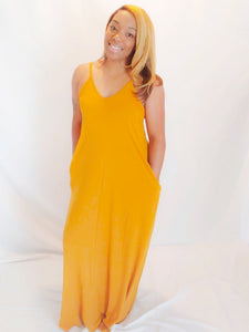 Cami - Desert Mustard | Dress