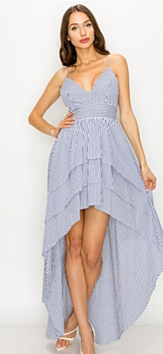 Stripe into Spring! | Dress