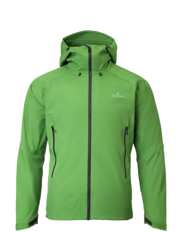 Jormun Bay Green Lightweight Hard Shell Jacket