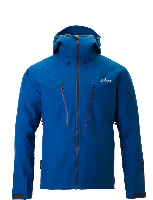 Men's Blue Hard Shell Ski Jacket