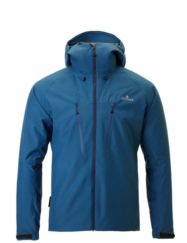 Men's Blue Hard Shell Climbing Jacket