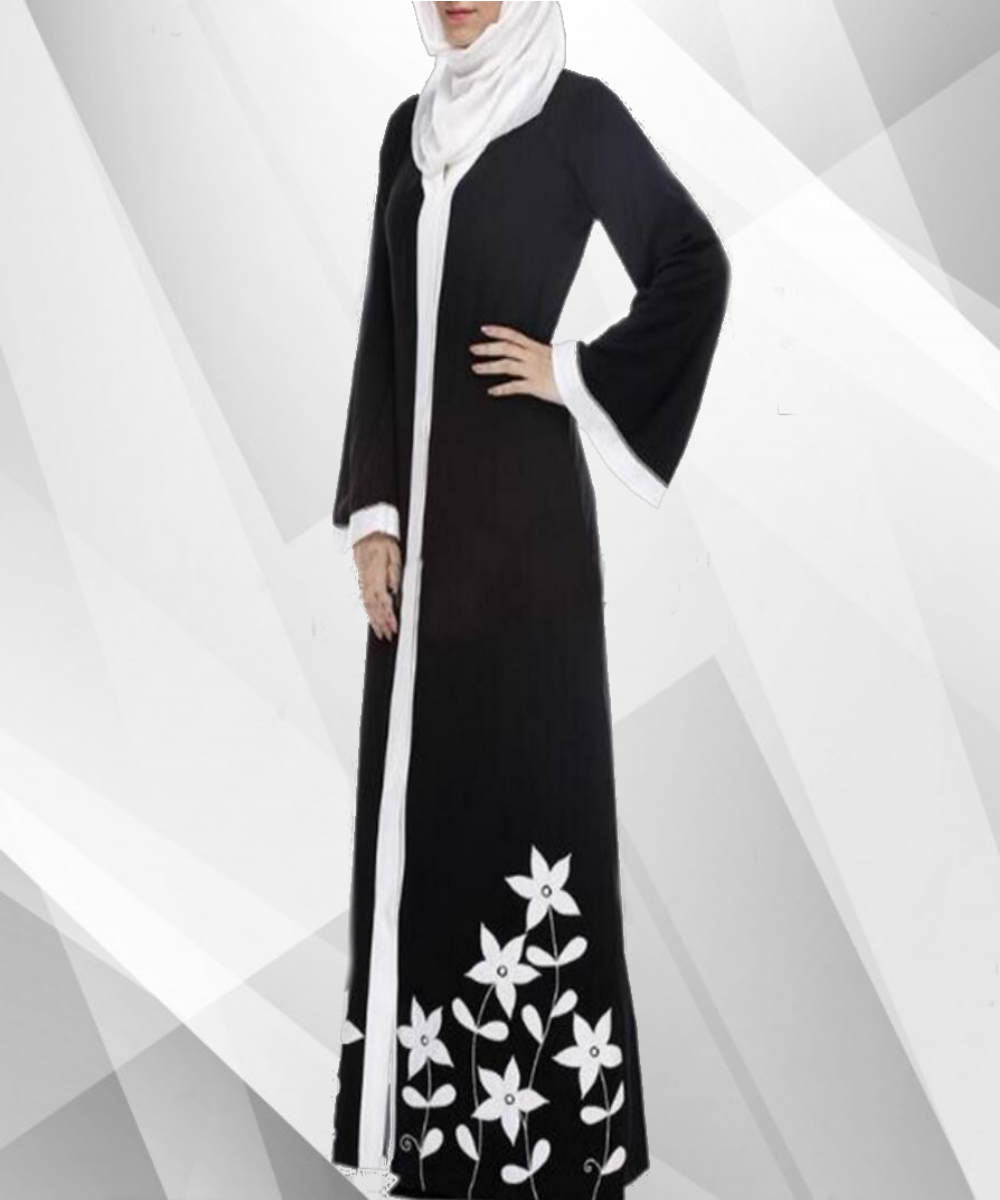 Floral Ethnic Abaya - Modest Apparel | Modest Nisah