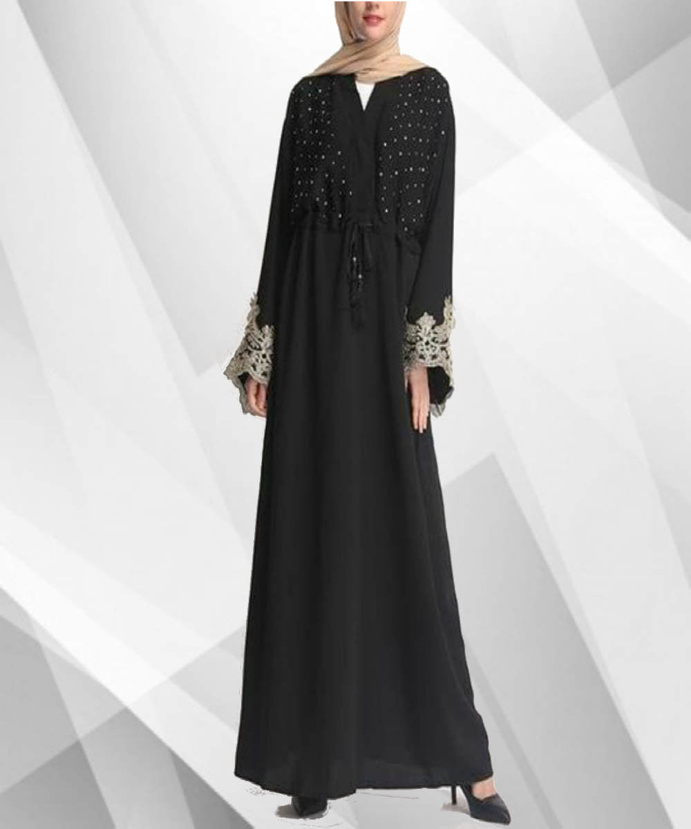 Lace Skirted Abaya - Modest Apparel | Modest Nisah