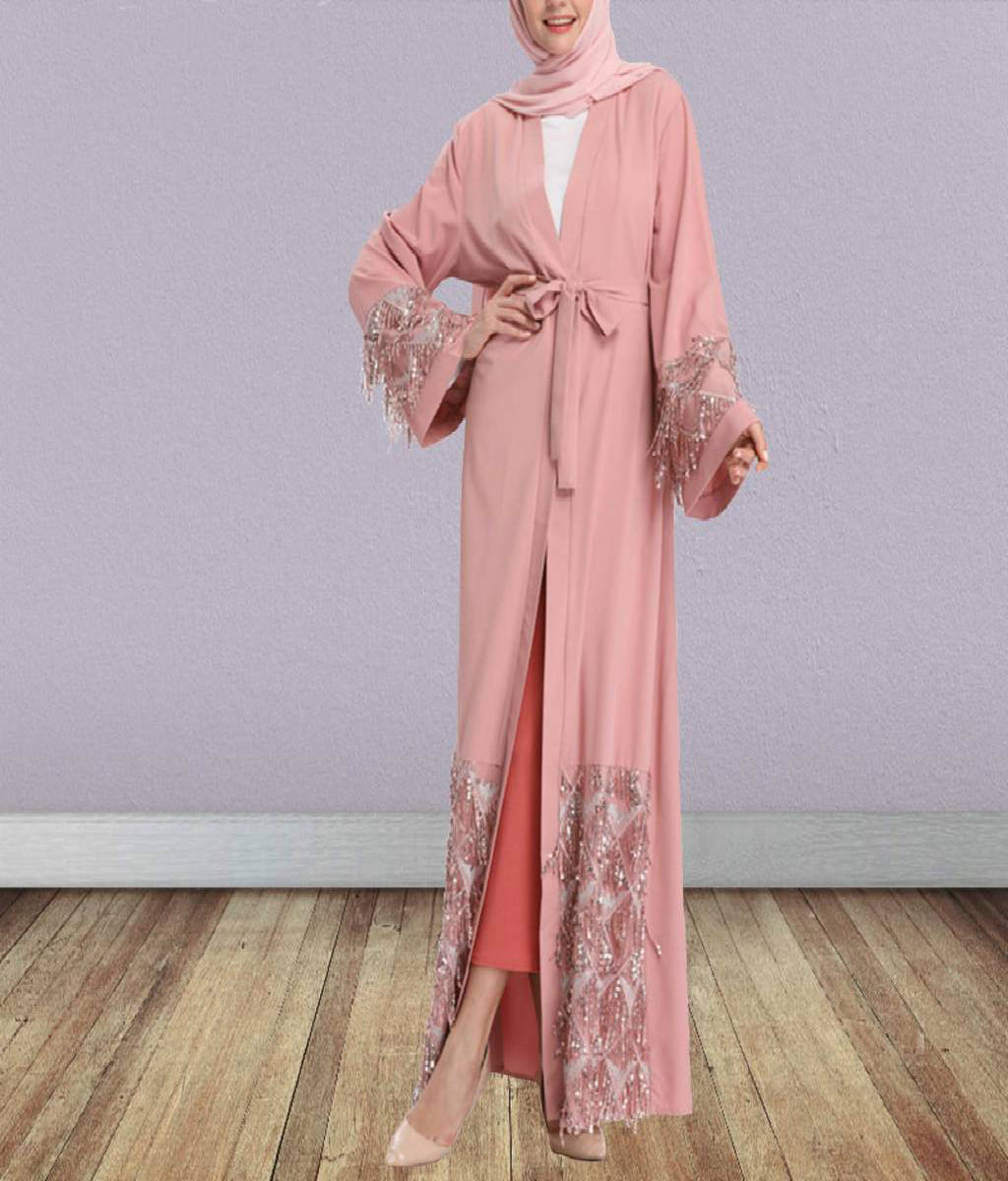 Sequined Kimono - Modest Apparel | Modest Nisah