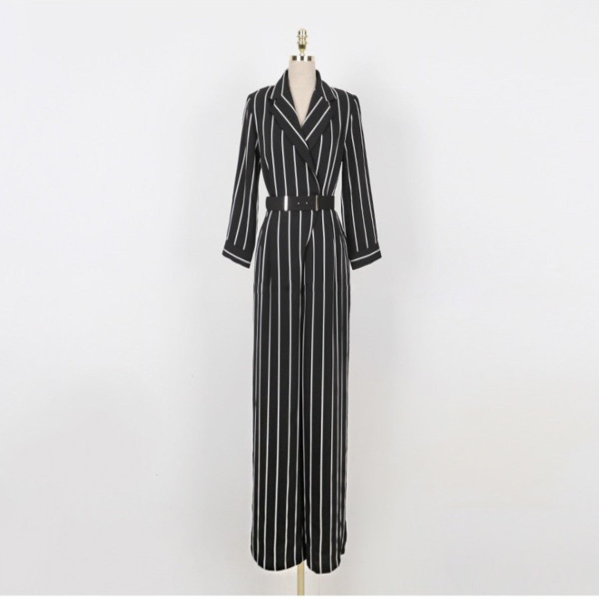 Chiffon Striped Jumpsuit - Modest Apparel | Modest Nisah