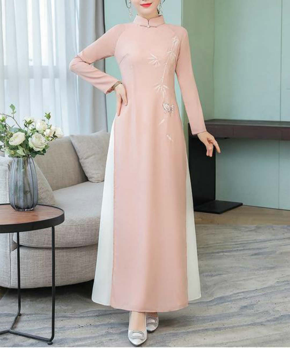 Elegant High Neck Sheer Dress - Modest Apparel | Modest Nisah