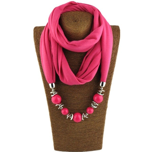 Beaded Charms Statement Scarves - Modest Apparel | Modest Nisah