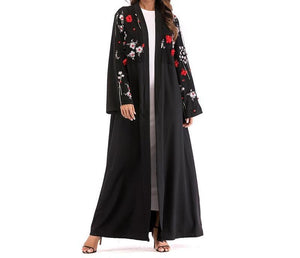 Midnight Garden Kimono Abaya - Modest Apparel | Modest Nisah
