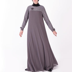 Umbrella cut Laced Abaya - Modest Apparel | Modest Nisah