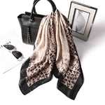 Coco Leopard Square Scarf - Modest Apparel | Modest Nisah