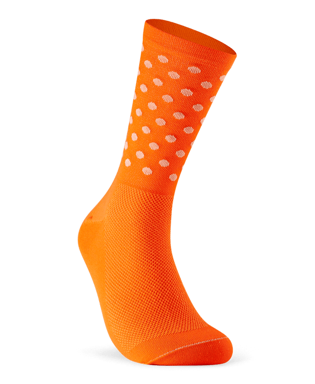 Dots - Hi-vis Orange & White