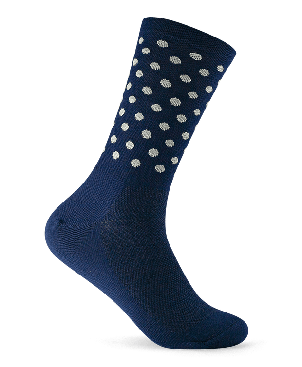 Dots - Navy & White