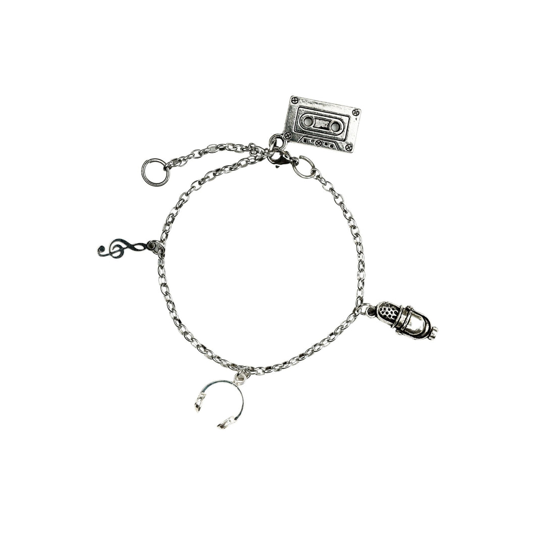 NEVER TOO MUCH - Music Charm Bracelet