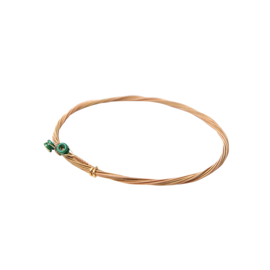 NIEMAND ABER SIE - Gold Guitar String Bangle