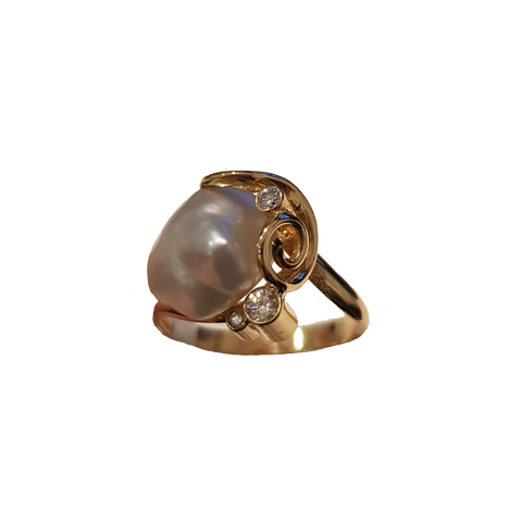 Broome Keshi Pearl Ring