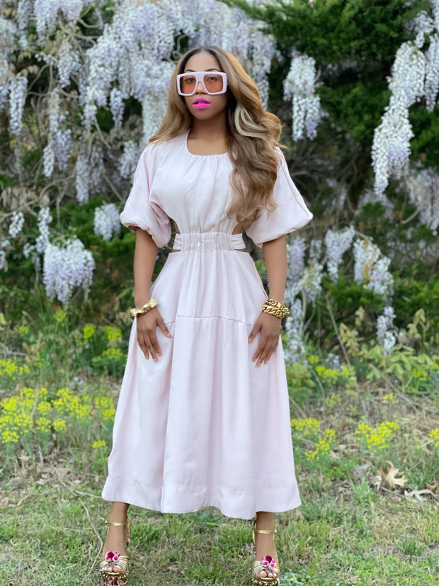 Lannie Powder Pink Dress