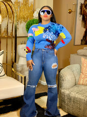 Cisco Bell Bottom Jeans